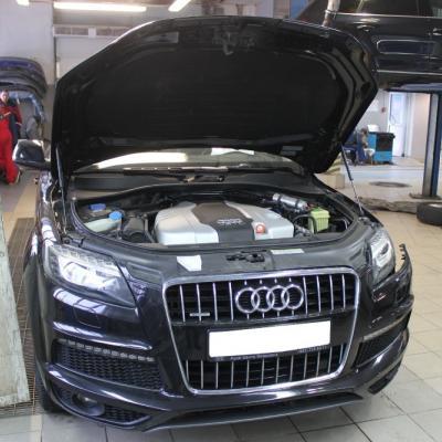 Установка ГБО Audi Q7