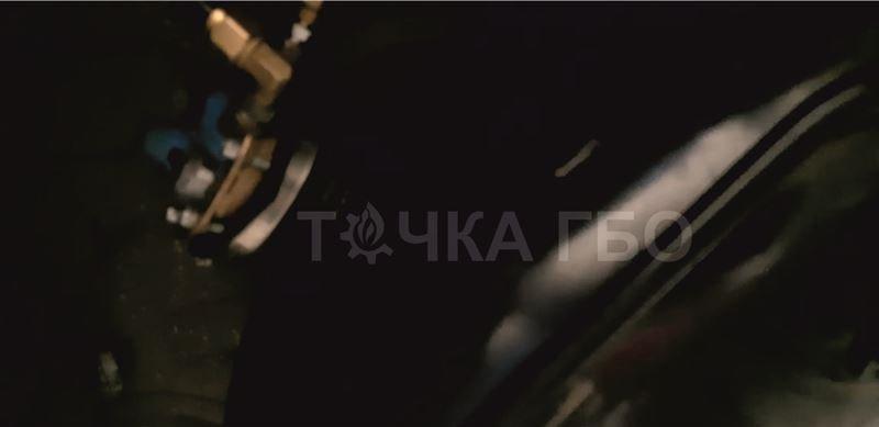 Renault Duster установка ГБО